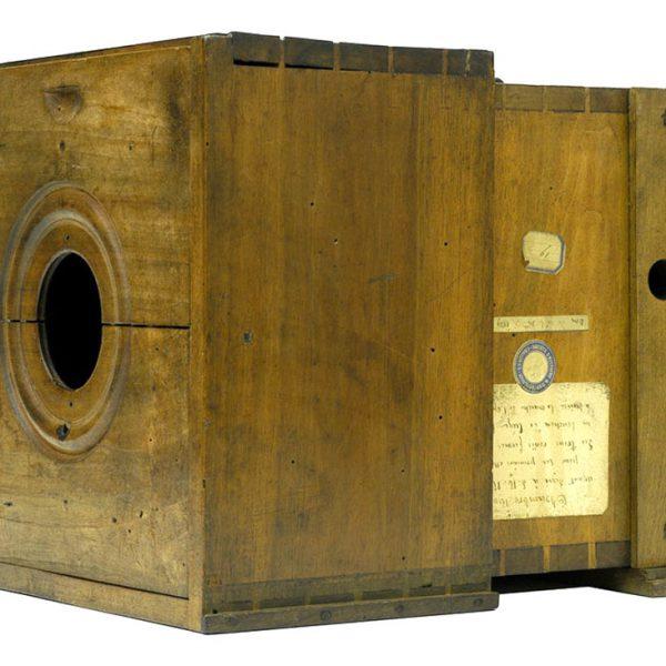 """Appareil de """"la découverte"""" conçu par Nicéphore Niépce en 1820"""