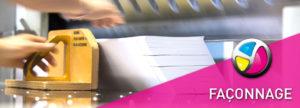 Imprimerie Color 01 : option de finition façonnage et conditionnement