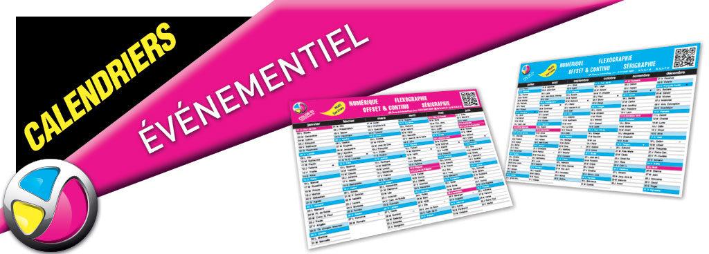 Imprimerie Color 01 : impression calendriers tous formats