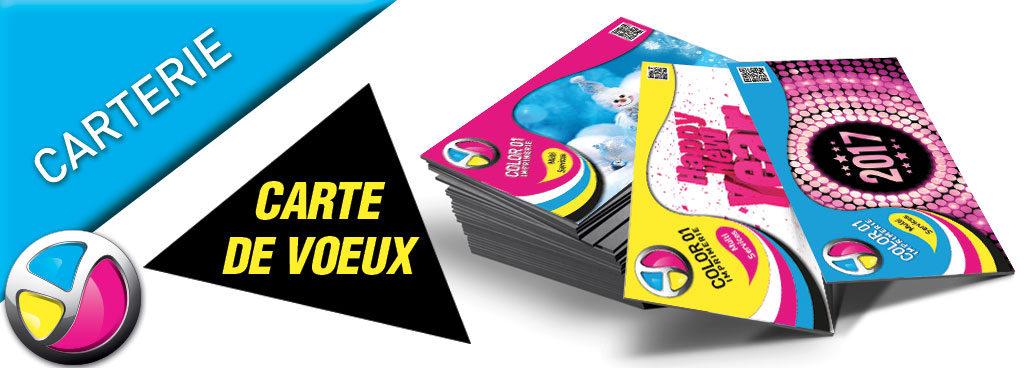 Imprimerie Color 01 : impression carte de vœux