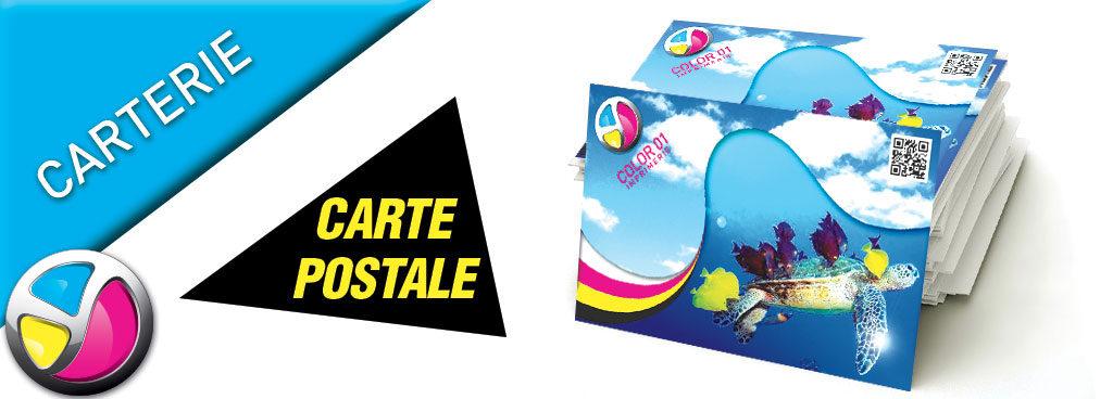 Imprimerie Color 01 : impression carte postale