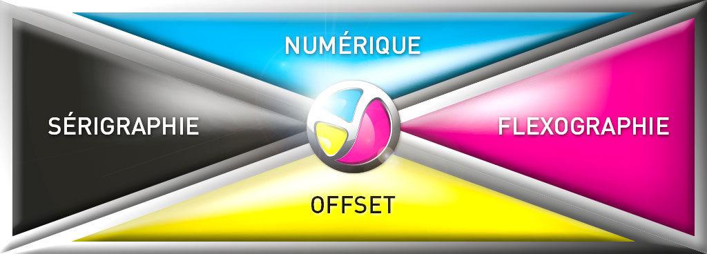 Color 01 : imprimerie travaillant avec tous systèmes d'impression : impression numérique, impression flexographie, impression offset et impression sérigraphie