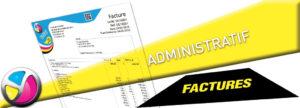 Imprimerie Color 01 : impression de factures en feuille - feuille ou en liasses