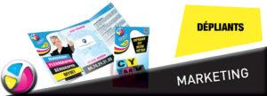 Imprimerie Color 01 : impression de dépliants commerciaux, marketing