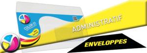 Imprimerie Color 01 : impression d'enveloppes avec fenêtre ou sans fenêtre